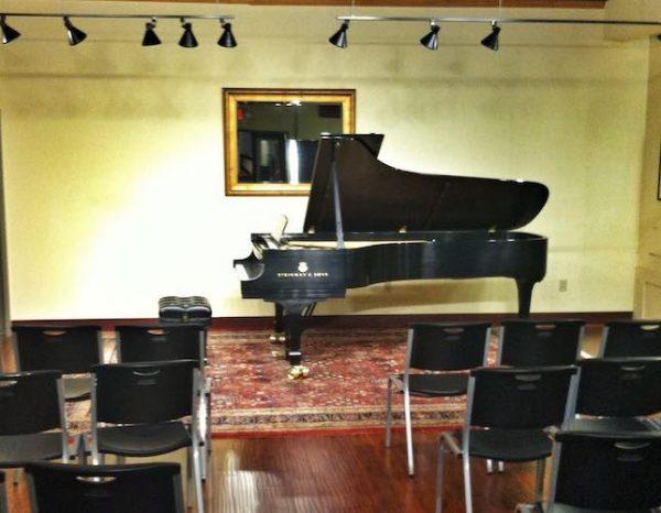 Recital Hall photo for Piano Sensei recitals