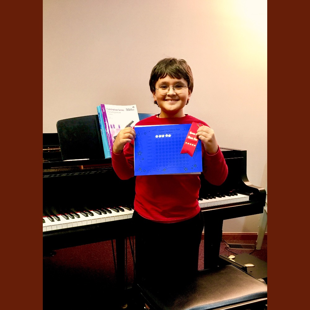 aaditya piano lessons award