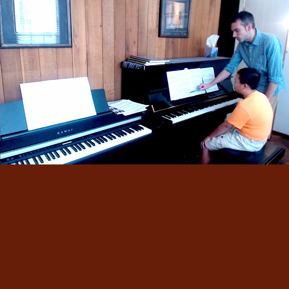 andrew at piano lessons