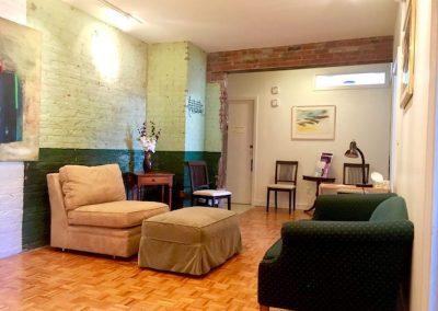 piano sensei studio waiting area