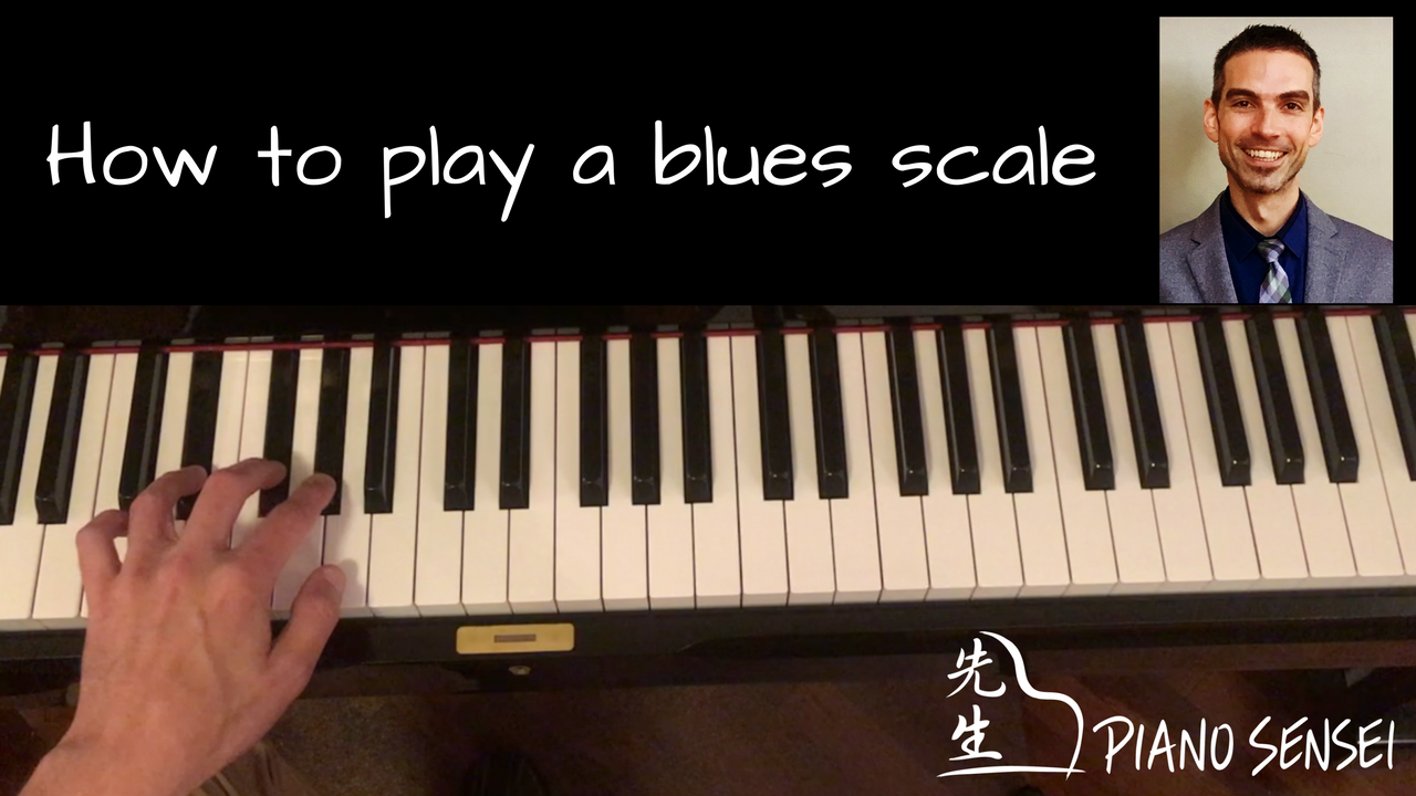 How to Play a Blues Scale
