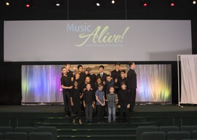 Music Alive group photo