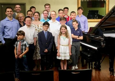 spring piano recital 2018 group photo